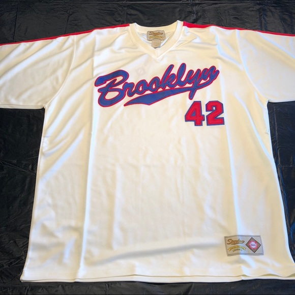 Vintage Brooklyn Dodgers Jersey 31ef628766a